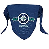 Hunter MFG Seattle Mariners Mesh Dog Bandana, Large
