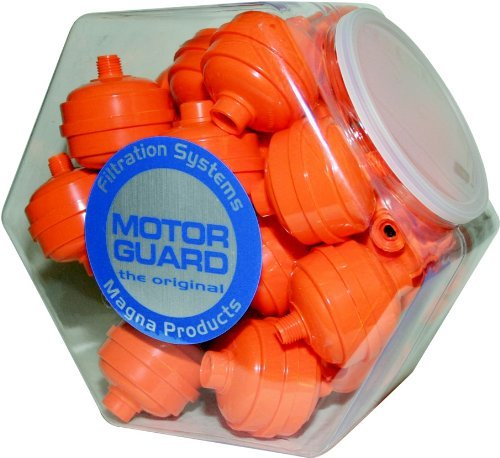 Motor Guard D-12-1CJ Disposable Spray Gun Filter, 25-Jar