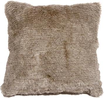 Pillow Decor Taie D Oreiller Decor Tundra Lievre Fausse Fourrure
