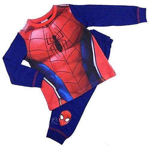 Boys Spider-Man Dress Up Pyjamas Sleepwear Nightwear 2-3 to 7-8Y (7-8 -