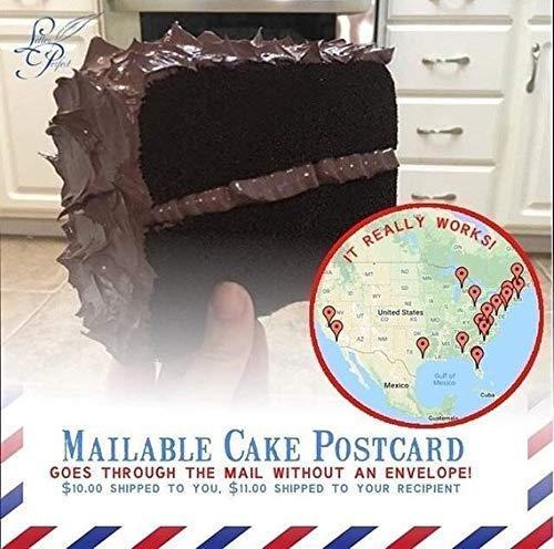 - Mailable Cake Postcard