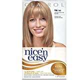 Clairol Nice 'n Easy Hair Color, Natural Light Ash Blonde (102), 2 pk