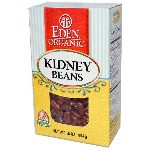 Eden Foods Constitutional Dry Dark Red Kidney Beans, 16 Ounce -- 12 per case.