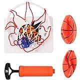 TOYANDONA 1 Set of Basketball Hoop Game for Kids and Adults Mini Basketball Portable Wall-Mounted Interesting Funny…