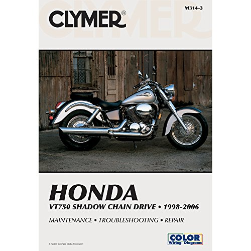 Wondrous Honda Vt750 Shadow Chain Drive 1998 2006 Clymer Motorcycle Repair Wiring Digital Resources Antuskbiperorg