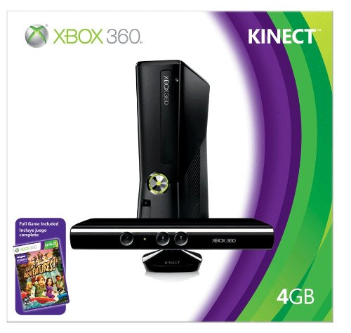 Xbox 360 4GB Console with - Connect Xbox 360 Games
