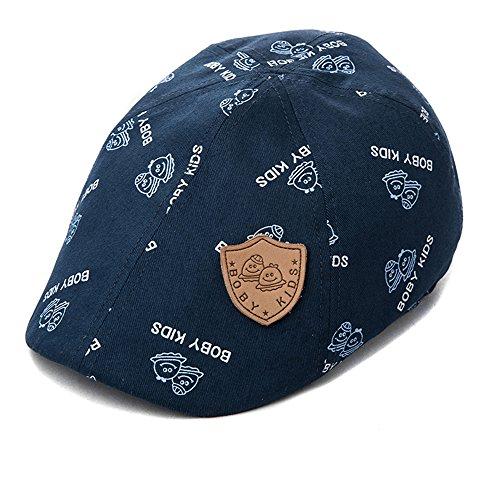 Price comparison product image Siggi Children Newsboy Cotton Flat Cabbie Hat Ivy Hunting Golf Irish Cap Spring Summer Navy