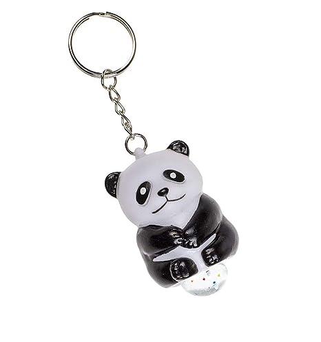 OOTB Panda Llavero Poo con Brillo - Squeeze Poop Animal ...