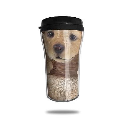 Amazon Com Hjgkfl Cute Golden Retriever Puppy Ice Coffee Small