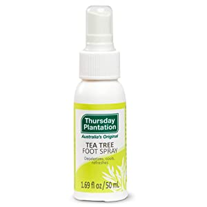 Thursday Plantation Tea Tree Foot Spray, Refreshes Feet and Neutralizes Odors, 1.69 fl oz