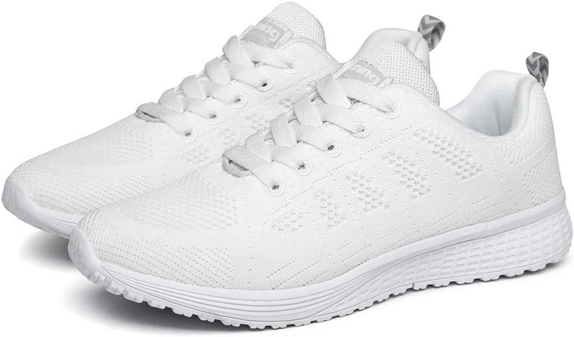 AIRAVATA SHLHA081 - Zapatillas de Running de Caucho para Mujer, Color, Talla 43: Amazon.es: Zapatos y complementos