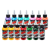 Millennium Mom's Tattoo Ink 14 Color Portrait Set 1 oz