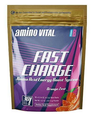 Amino Vital Fast Charge - Amino Acids (BCAAs, Glutamine, ...