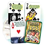 Best Playing Cards In The Worlds - Flickback 1955 Trivia Playing Cards: 62nd Birthday or Review