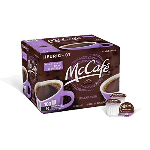 McCafe French Roast Coffee, K-CUP Pods, 100 Count