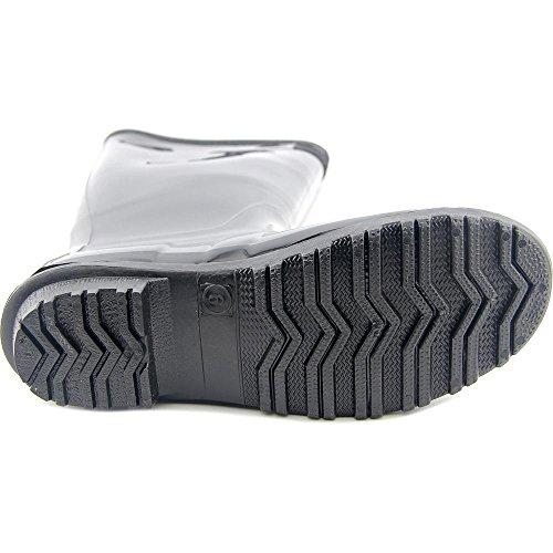 Seven7 Mujeres British Girl Rain Shoe, Negro, 8 Uk / 8 M Es