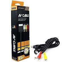 Retro-Bit AV Cable-Black, Dreamcast