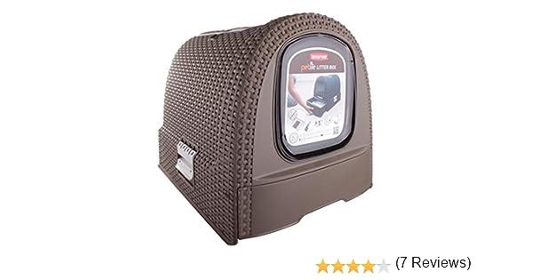 Curver Caja de Basura, 51 x 38,5 x 39,5 cm: Amazon.es: Productos para mascotas