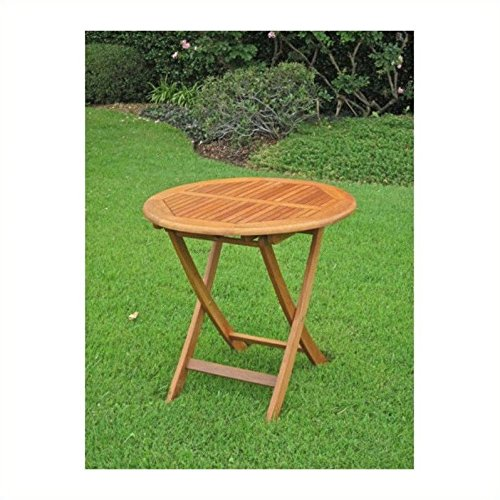 International Caravan TT-VN-0092-TBL-IC Furniture Piece Royal Tahiti Outdoor Wooden 28