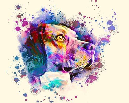 Custom Pet Portrait, Cat Dog Portrait, Pet Painting, Watercolor painting, Handmade, Pet lover, Personalized Gift, Mug Canvas, Aluminum