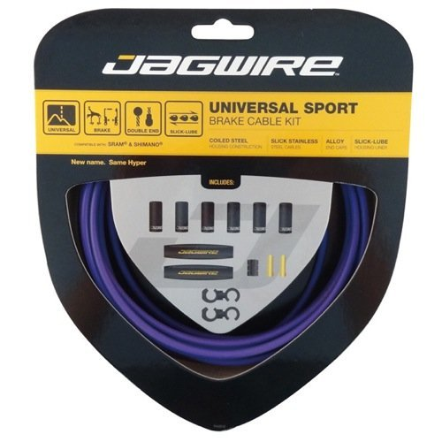 Jagwire Hyper Brake Kit, Purple (Purple Kit)
