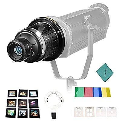 Image of Andoer NiceFoto SN-29 Flash Concentrator Conical Snoot Video Light Art Styling Snoot with YONGNUO YN50mm F1.8 Lens Bowens Mount Photographic Equipment Accessories On-Camera Video Lights
