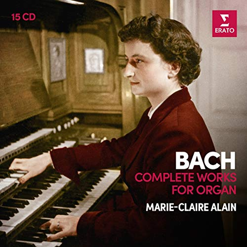 (Bach: Complete Organ Works (1st analogue version)(15CD))