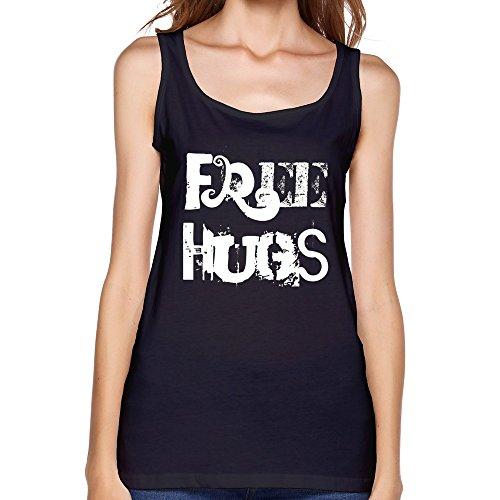 Women's Free Hugs Tank Top - Lara Croft Top Tank