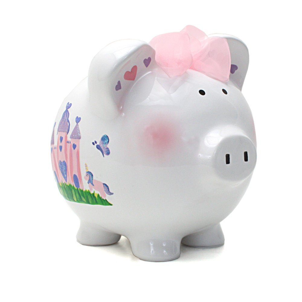 Child to cherish ceramic piggy bank for boys for Childrens piggy bank