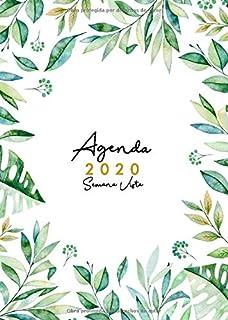 Agenda 2020 Semana Vista Español: Formato A4 | Enero a ...
