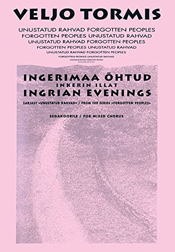 Ingrian Evenings: from the Series Forgotton Peoples pdf