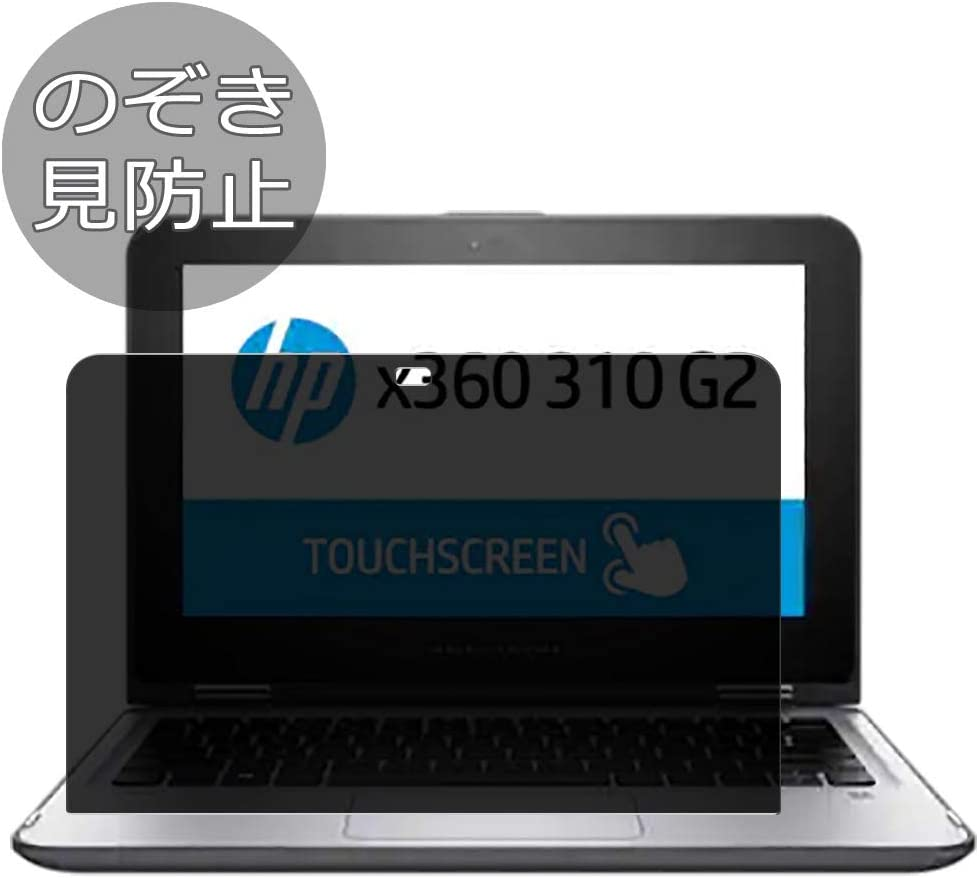 """Synvy Privacy Screen Protector Film for HP x360 310 G2 11.6"""" Anti Spy Protective Protectors [Not Tempered Glass]"""