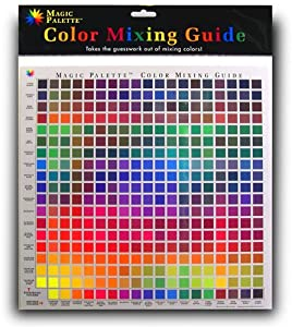 Amazon.com: The Color Wheel 5324CW Magic Palette Personal Mixing Guide