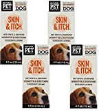 Natural Pet Pharmaceuticals Skin and Itch Dog Care 4oz Each (4 Pack)
