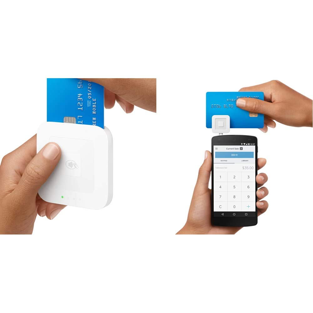 Square Reader for contactless and chip & A-SKU-0047 Reader for magstripe (with Headset Jack)