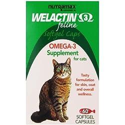 Nutramax Welactin Feline Soft Gel Caps - 60 Count