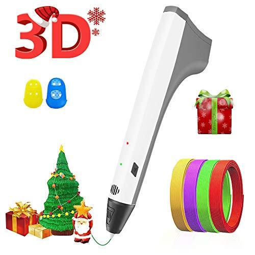 3D Pen, Upgraded M1 3D Printing Pen for Kids, 3D Printer Pen Compatible with PLA Filament, Lightest User-Friendly Design (Best 3d Printer For Architects)