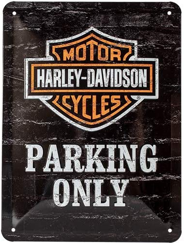 Harley motorbike Biker retro garage Tin Sign Music /& Motorcycles Metal Plaque