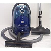 Emer Botticelli Dual Bag or Bagless Canister 1400 watts Hepa Canister Vacuum Blue - Corded
