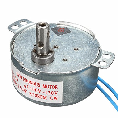 Hitommy 110V AC 8/10RPM CW Synchronous Motor
