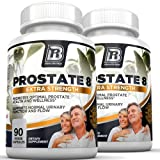 BRI Prostate8 - Prostate Health Formula With Vitamins and Minerals – Potent Urinary Function Supplement - 90 Count each, 2-Pack Vegetarian Capsules