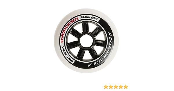 Rollerblade Hydrogen 84mm 85A Wheels /& Headband Bundle