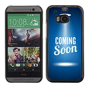 Carcasa Funda Case // V0000687 Coming Soon Web Page Template // HTC ONE M8