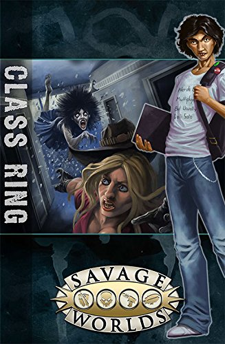 East Texas University  Gm Screen With Class Ring Adventure  Savage Worlds  S2p10312