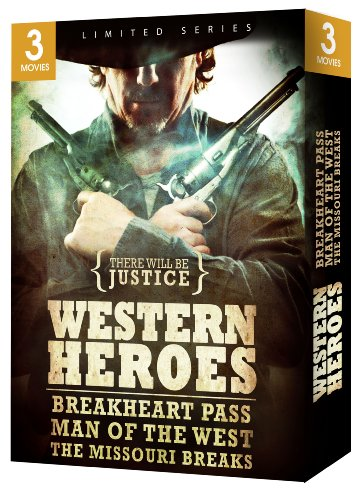 Western Heroes Gift Box Set (Breakheart Pass/Man of the West/The Missouri - Missouri Set Train