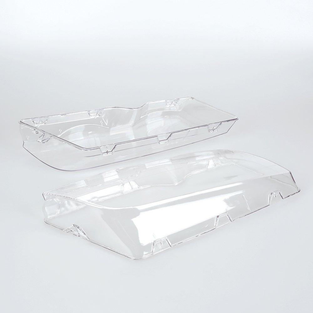Pair L&R Headlight Headlamp Lense Clear Lens Cover for BMW E46 3 Series 320i/325i/325xi/330i/330xi 1998-2001