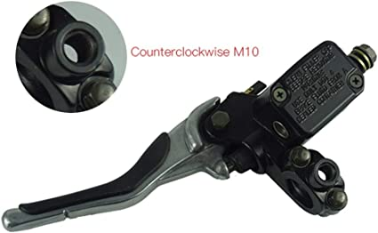 Cilindro maestro del freno trasero de 1 par palanca izquierda y derecha for Yamaha Aerox YQ50 1997-2013 MBK Nitro Buena Calidad Palanca De Freno