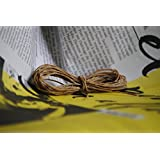 CANADIAN Hemp Wick 3 Feet. 100% Natural With Beeswax