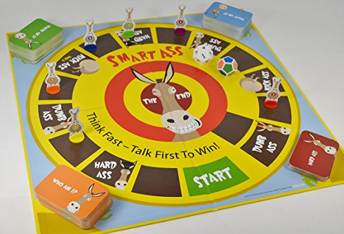 Smart Ass The Ultimate Trivia Board Game for Families & Adults Ages 12 & Up, The Perfect Tabletop Game For Parties & Events