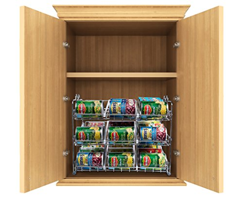 Stackable Can Rack Organizer, Storage For 36 Cans U2013 Great For The Pantry  Shelf, Kitchen Cabinet Or Counter Top. Stack Another Set On Top To Double  Your ...